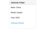 Vehicle Year/Make/Model Filter (OpenCart Mod)